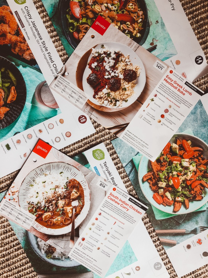 WHAT'S FOR DINNER: UNPACKING MEAL DELIVERYBOXES